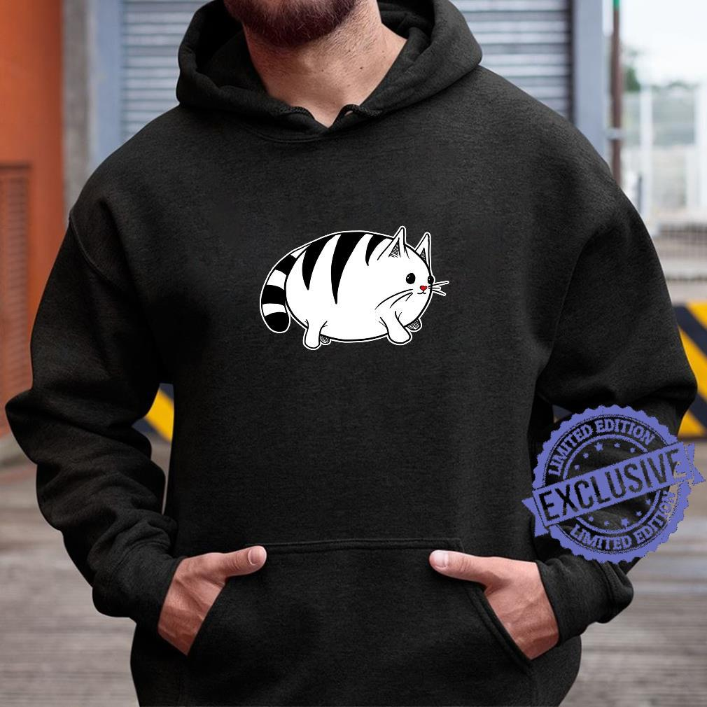 Cute Cat With Red Nose Shirt hoodie