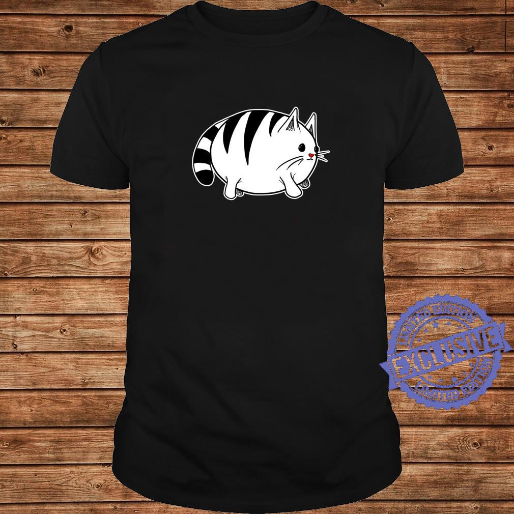 Cute Cat With Red Nose Shirt long sleeved