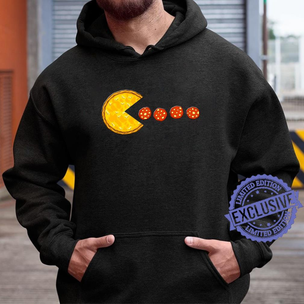 Funny Pizzas Pizza Eating Pepperoni Pizza Shirt hoodie