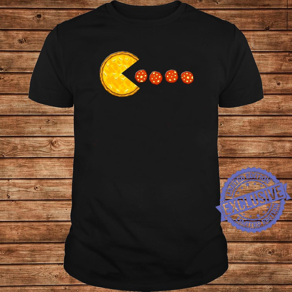 Funny Pizzas Pizza Eating Pepperoni Pizza Shirt long sleeved